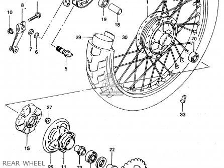 Suzuki GZ125 1999 (X) (E01) parts lists and schematics