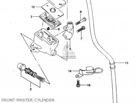 Suzuki Gz125 2000 (y) (e01) parts list partsmanual partsfiche