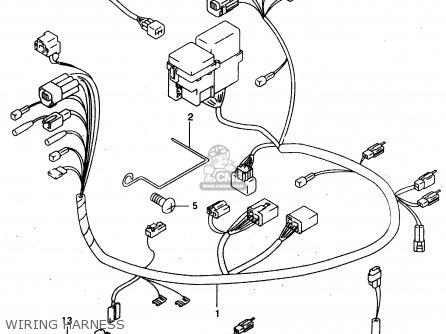 Suzuki GZ125 2000 (Y) (E01) parts lists and schematics