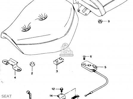 Suzuki Gz125 2000 (y) parts list partsmanual partsfiche