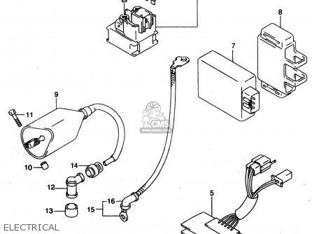 Suzuki GZ125C 2000 (Y) (E01) parts lists and schematics