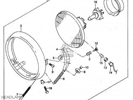 Suzuki GZ125U 2000 (Y) (E01) parts lists and schematics