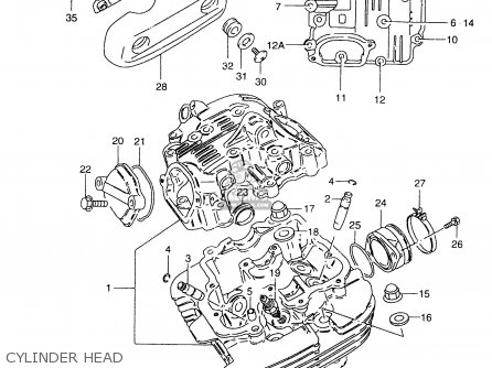 Suzuki Gz250 1999 (x) parts list partsmanual partsfiche