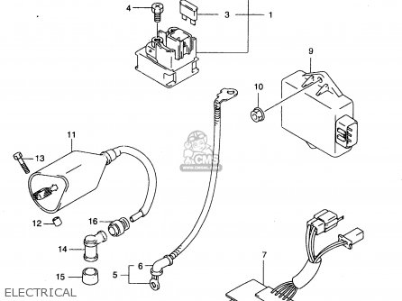 1981 850 Suzuki Wiring Diagram Rubber Plugs Suzuki 850