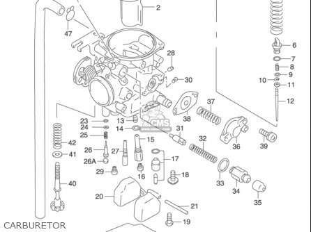 Suzuki Gz250 2002 (usa) parts list partsmanual partsfiche