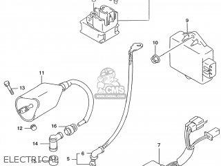 Suzuki GZ250 MARAUDER 2000 (Y) USA (E03) parts lists and