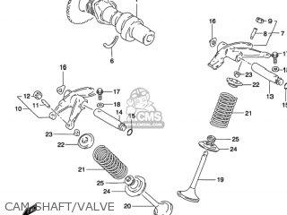Suzuki Gz250 Marauder 2002 (k2) Usa (e03) parts list