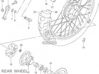 Suzuki GZ250 MARAUDER 2005 (K5) USA (E03) parts lists and