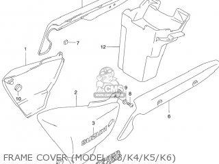 Suzuki GZ250 MARAUDER 2007 (K7) USA (E03) parts lists and