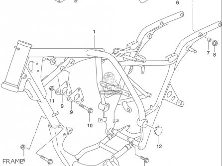 Suzuki Gz250 (usa) parts list partsmanual partsfiche