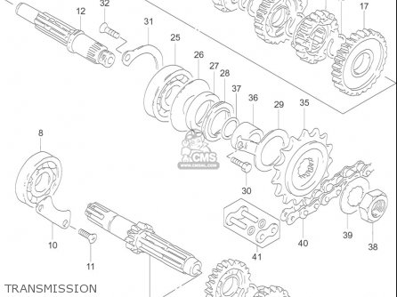Suzuki Gz250 (usa) parts list partsmanual partsfiche