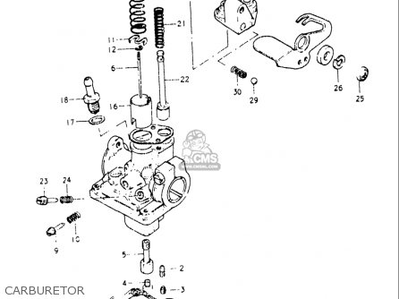 Suzuki Jr50 1978-1981 (usa) parts list partsmanual partsfiche