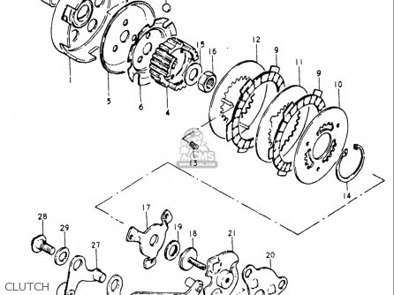 Suzuki Jr50 1978-1981 (usa) parts list partsmanual partsfiche