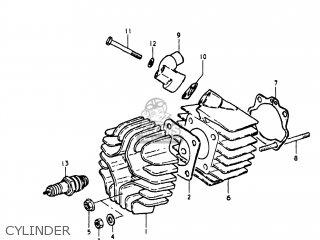 Suzuki Jr50 1978 (c) Usa (e03) parts list partsmanual