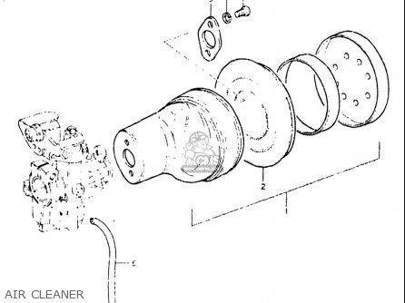 Suzuki Jr50 1982 (usa) parts list partsmanual partsfiche