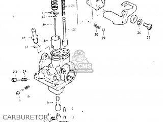 Suzuki JR50 1982 (Z) USA (E03) parts lists and schematics