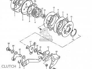 Suzuki JR50 1990 (L) USA (E03) parts lists and schematics