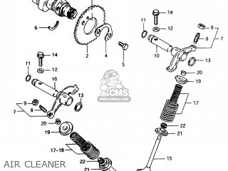 Suzuki Jr50 1994 (r) parts list partsmanual partsfiche
