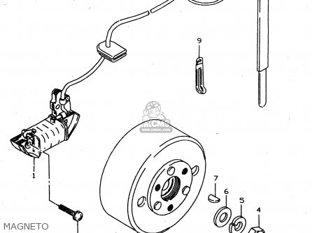 Suzuki Jr50 1998 (w) parts list partsmanual partsfiche