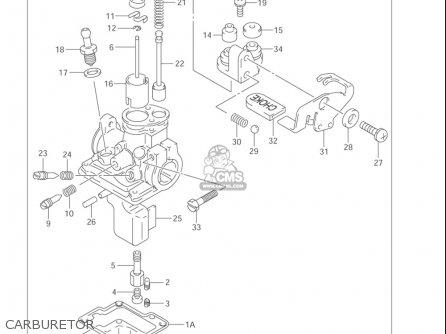 Suzuki Jr50 2000-2004 (usa) parts list partsmanual partsfiche