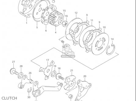 Suzuki Jr50 2000-2004 (usa) parts list partsmanual partsfiche