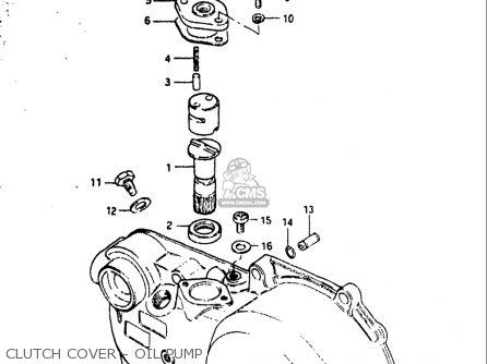 Suzuki Jr50 R 1983 (usa) parts list partsmanual partsfiche