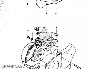 Suzuki JR50R 1983 (D) USA (E03) parts lists and schematics