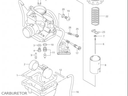 Suzuki Jr80 2001-2004 (usa) parts list partsmanual partsfiche