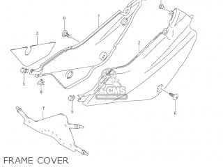 Suzuki JR80 2001 (K1) USA (E03) parts lists and schematics