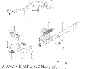 Suzuki Jr80 2001 (k1) Usa (e03) parts list partsmanual