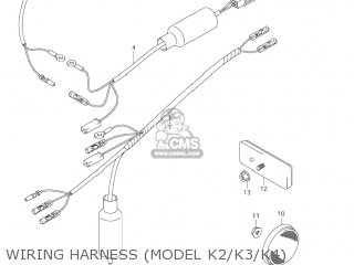 Suzuki JR80 2001 (K1) USA (E03) parts lists and schematics