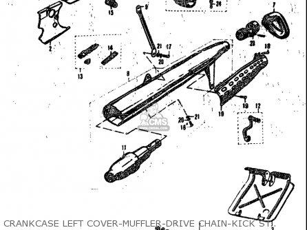 Suzuki K10p K11p K15p 1968 Usa (e03) parts list