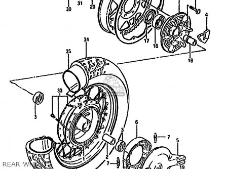 Suzuki Ls650 1986 (fg) parts list partsmanual partsfiche