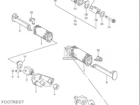 Suzuki Ls650 2005 (k5) Usa (e03) parts list partsmanual
