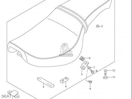 Suzuki LS650 2005 (K5) USA (E03) parts lists and schematics