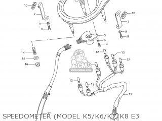 Suzuki LS650 BOULEVARD S40 2005 (K5) USA (E03) parts lists