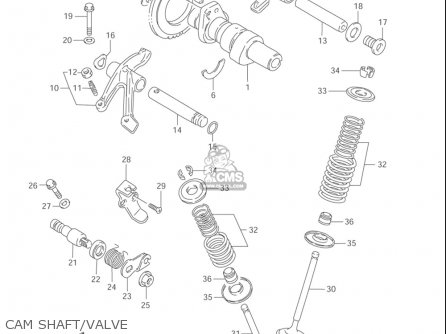 Suzuki Ls650 P Savage 1996-2004 (usa) parts list