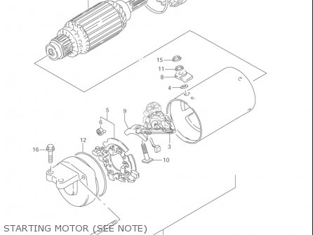 Suzuki Ls650 P Savage 1996-2004 (usa) parts list