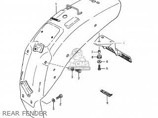 Suzuki LS650 SAVAGE 1987 (H) USA (E03) parts lists and