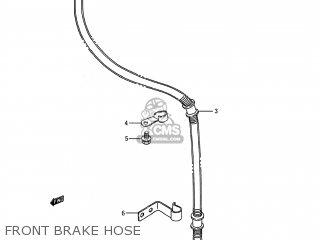 Suzuki LS650 SAVAGE 1995 (S) USA (E03) parts lists and