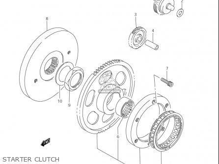 Suzuki Ls650 (usa) parts list partsmanual partsfiche