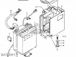 Suzuki Ls650f Savage 1986 (g) Usa (e03) parts list