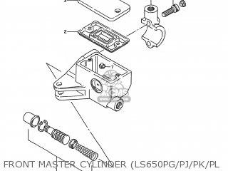 Suzuki LS650F SAVAGE 1986 (G) USA (E03) parts lists and