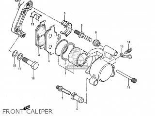 Suzuki LS650F SAVAGE 1987 (H) USA (E03) parts lists and