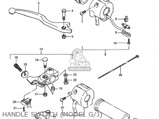 Suzuki Ls650f Savage 1987 (h) Usa (e03) parts list