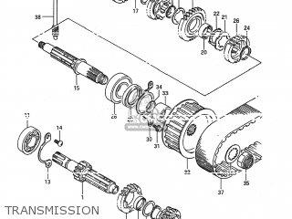 Suzuki Ls650f Savage 1987 (h) Usa (e03) parts list