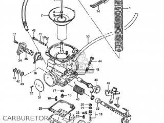 Suzuki LS650F SAVAGE 1995 (S) USA (E03) parts lists and