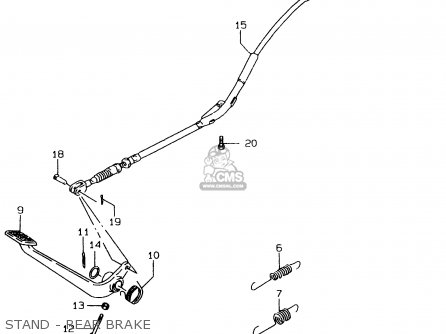 Suzuki LS650P 1996 (T) (E01) parts lists and schematics