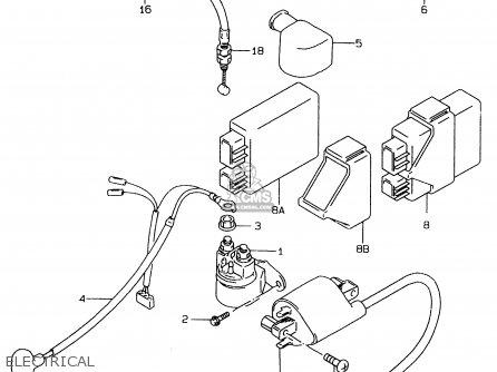 Suzuki LS650P 1997 (V) (E02 E04 E17 E18 E22 E25 E53 / P37