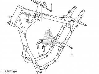 Suzuki LS650P SAVAGE 1988 (J) USA (E03) parts lists and